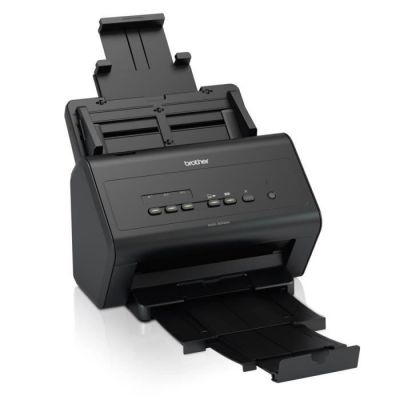 image Brother ADS-3000N Scanner bureautique | A4 | Recto-verso | 50 ppm | Ethernet |Couleur | Scan to USB 3.0