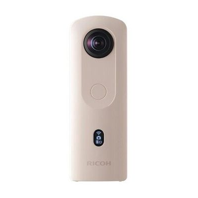 image RICOH Theta SC2 Beige Camera 360° Video 4K avec Ricoh Housse pour Ricoh Theta Appareil Photo et vidéo à 360° - Noir