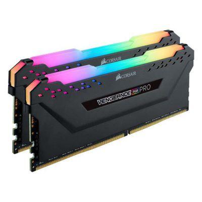 image Mémoire de bureau Corsair Vengeance RGB PRO 32 Go (2x16 Go) DDR4 3600 (PC4-28800) C18 - Noir