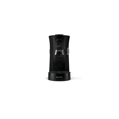 image Philips CSA240/21 Machine à Café à Dosettes SENSEO Select Eco, Intensity Plus, Crema Plus, Fonction Memo - Noir avec effet moucheté
