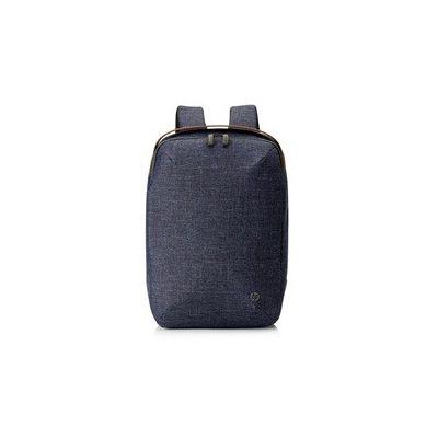 """image HP RENEW Sac à Dos pour Ordinateur Portable jusqu'à 15,6"""" (Résistant à l'Eau, 29,5 x 10 x 43,5 cm) - Bleu Marine"""