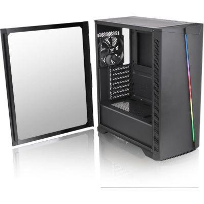 image Thermaltake H350 TG RGB Midi Tower Noir