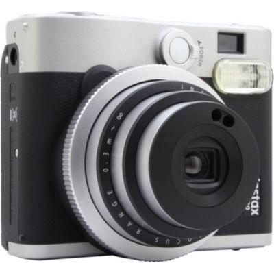 image Fujifilm - Instax Mini 90 Neo Classic - Appareil Photo à Impression Instantanée - Noir & Instax Mini Film 50 Shot Pack