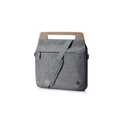 """image HP RENEW Sacoche Ultra-Plate pour Ordinateur Portable jusqu'à 14"""" (Résistante à l'Eau, 35,5 x 4 x 25,5 cm) - Grise"""
