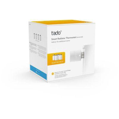 image TADO Têtes Thermostatiques connectées - Quattro Pack (pack de 4)