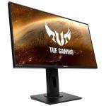 "image produit ASUS TUF Gaming VG258QM - Ecran PC Gamer eSport 24,5"" FHD - Dalle TN - 280Hz - 1ms - 16:9 - 1920x1080 - 400cd/m² - Display Port & 2x HDMI - Nvidia G-Sync - Extreme Low Motion Blur Sync - HDR 400 - livrable en France"