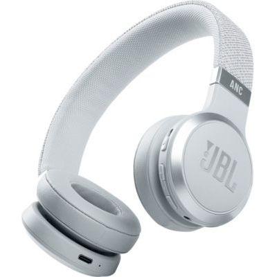 image JBL Live 460NC – Casque audio supra-auriculaire sans fil – Écouteurs Bluetooth avec réduction de bruit et commande pour appels – Autonomie jusqu'à 50 heures – Blanc