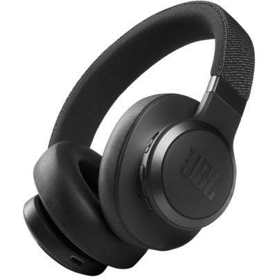 image JBL Live 660NC – Casque audio supra-auriculaire sans fil – Écouteurs Bluetooth avec réduction de bruit et commande pour appels – Autonomie jusqu'à 50 heures – Noir