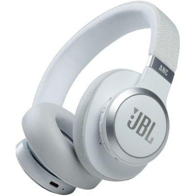 image JBL Live 660NC – Casque audio supra-auriculaire sans fil – Écouteurs Bluetooth avec réduction de bruit et commande pour appels – Autonomie jusqu'à 50 heures – Blanc