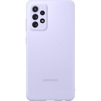 image Samsung Galaxy A72 Silicone Cover Case - Violet