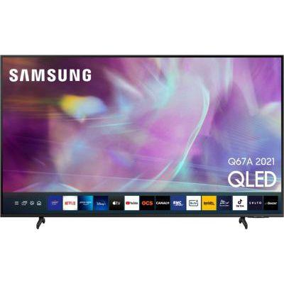 image TV QLED Samsung QE55Q67A 2021
