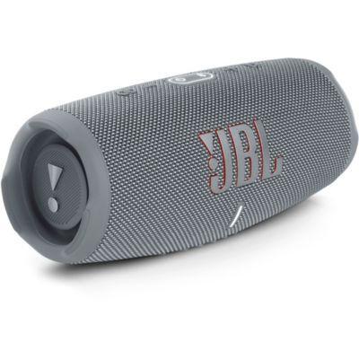 image JBL Charge 5 – Enceinte portable Bluetooth avec chargeur intégré – Son puissant et basses profondes – Autonomie de 20 hrs – Etanche à l'eau et à la poussière – Gris