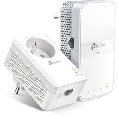 image TP-Link TL-WPA7617 KIT(FR) CPL 1000mbps WiFi AC 1200 avec prise gigogne