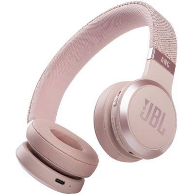 image JBL Live 460NC – Casque audio supra-auriculaire sans fil – Écouteurs Bluetooth avec réduction de bruit et commande pour appels – Autonomie jusqu'à 50 heures – Rose