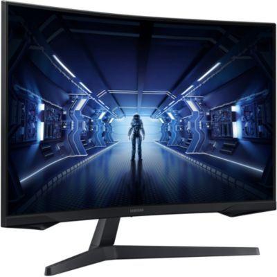 "image SAMSUNG ODYSSEY G5 27'' Ecran PC Gaming Incurvé 1000R, Dalle VA 27"", Résolution WQHD (2560 x 1440), 144 Hz, 1ms, AMD FreeSync, HDR10, Noir"