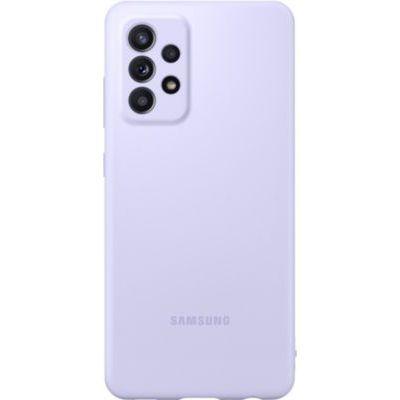 image Coque Silicone Galaxy A52 4G/5G Violet