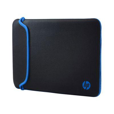 """image HP Housse de Protection Réversible pour Ordinateur Portable 15,6"""" (Néoprène) - Noir/Bleu"""