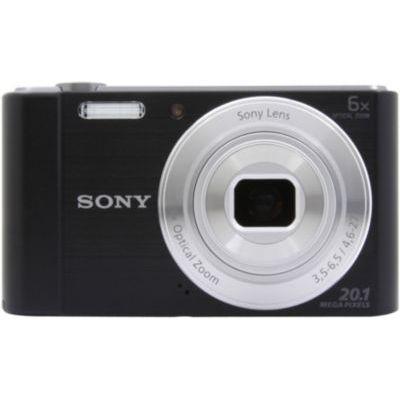 image Sony DSCW810B Appareil Photo Numérique Compact, 20,1 Mpix, Zoom Optique 6x Noir