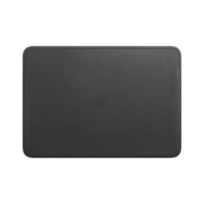 image Apple Housse en Cuir (pour MacBookPro 16Pouces) - Noir