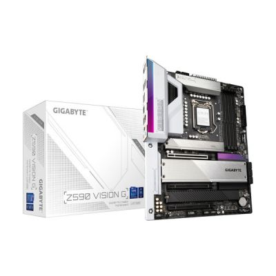 image Gigabyte Z590 Vision G ATX Carte mère pour processeur Intel LGA 1200