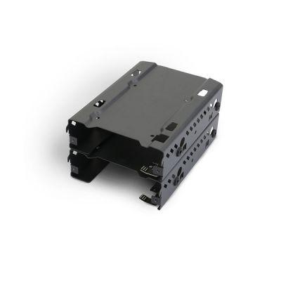 """image Phanteks - PH-HDDKT_03 Lot de 2 boîtiers empilables pour Disque Dur 3,5"""" Noir"""
