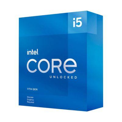 image Intel Core i5-11600KF (3.9 GHz / 4.9 GHz) (sans Puce Graphique)