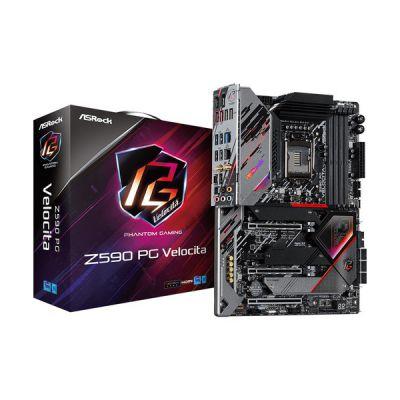 image Asrock Z590 PG Velocita Intel Z590 LGA 1200 (Socket H5) ATX