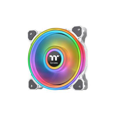 image Thermaltake CL-F100-PL12SW-C Ventilateur, Refroidisseur et radiateur Boitier PC 12 cm Blanc