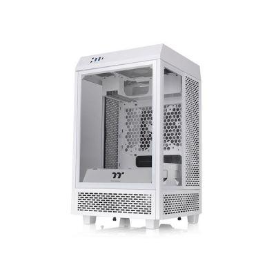 image Thermaltake The Tower 100 Snow Mini Tower Blanc
