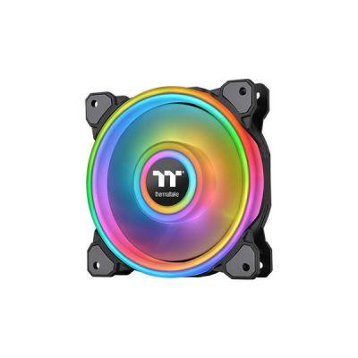 image Thermaltake CL-F088-PL12SW-C ventilateur, refroidisseur et radiateur Boitier PC 12 cm Noir, Blanc