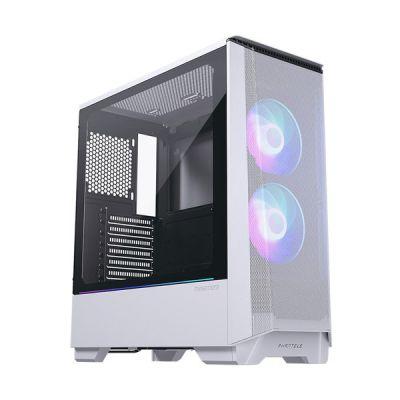 image Phanteks (PH-EC360ATG_DWT01) Eclipse P360A Maillage Ultra Fin Performance Mesh, boîtier de Tour intermédiaire, Verre trempé, éclairage numérique RVB Blanc