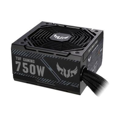 image ASUS TUF Gaming 750W Bronze PSU Bloc d'alimentation (radiateurs ROG, ventilateurs axiaux à double roulement à billes, technologie 0dB)