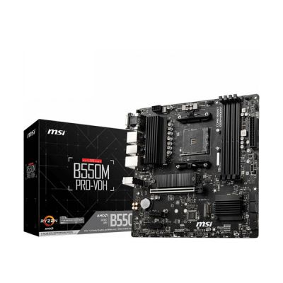 image MSI B550M Pro-VDH Carte mère AMD B550 Emplacement AM4 Micro ATX