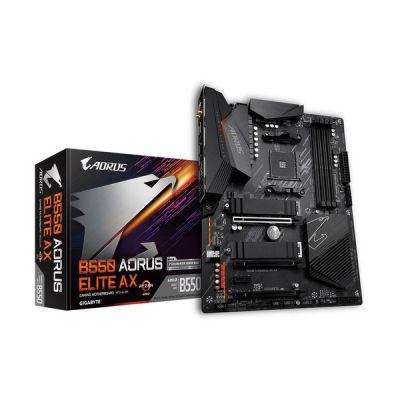 image Gigabyte B550 AORUS Elite AX V2 Carte mère AMD B550 Emplacement AM4 ATX