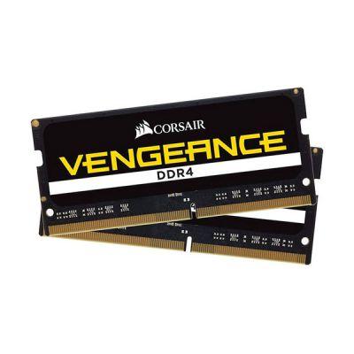 image Corsair Vengeance SODIMM 16Go (2x8Go) DDR4 2933MHz CL20 Mémoire pour Ordinateur Portable/Notebook - Noir