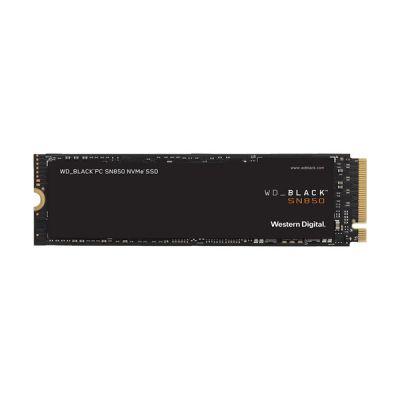 image WD_BLACK SN850 2 To NVMe Disque SSD Interne pour les Jeux; Technologie PCIe Gén4, Vitesse de Lecture Jusqu'à 7000Mo/s, M.2 2280