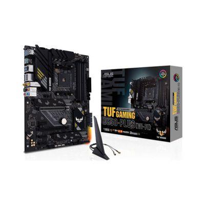 image ASUS TUF GAMING B560-PLUS WIFI Carte mère Intel B560 LGA 1200 ATX (PCIe 4.0, Gen4 M.2, 8+1 DrMOS, DDR4 5000, Wi-Fi 6, 2.5 Gb Ethernet, USB 3.2 Gen 1 Type-C, Thunderbolt 4)