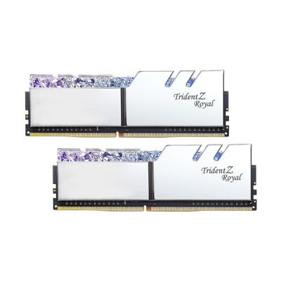 image DDR4 G.Skill Trident Z Royal Argent - 64 Go (2 x 32 Go) 4000 MHz - CAS 18