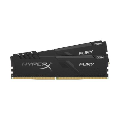 image HyperX FURY Black HX434C17FB3K2/64 Mémoire 64Go Kit*(2x32Go) 3466MHz DDR4 CL17 DIMM