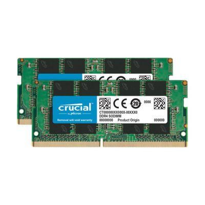 image Crucial RAM CT2K32G4SFD8266 64Go Kit (2x32Go) DDR4 2666 MHz CL19 Mémoire d'ordinateur Portable