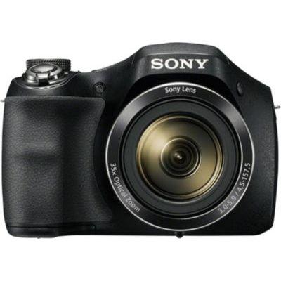 image Sony DSCH300 Appareil Photo Numérique Bridge, 20.1 Mpix Zoom Optique 35x Noir