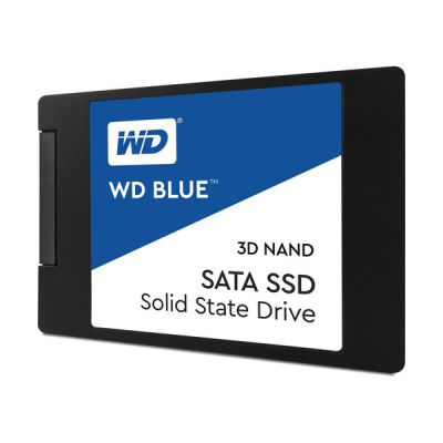 """image Western Digital - WD Blue SSD - Disque SSD interne 2.5"""" SATA 4To 3D NAND"""