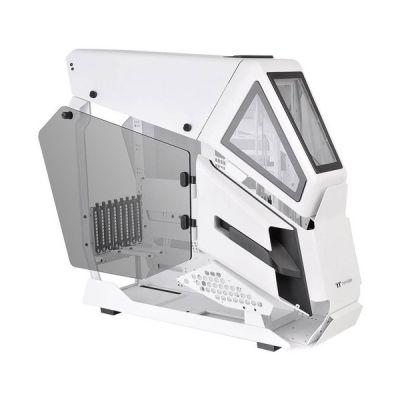 image Thermaltake AH T600 Boîtier PC Mid Tower à Cadre Ouvert avec Prise en Charge des Fenêtres en Verre trempé Jusqu'à E-ATX USB3.1 Type-C White CA-1Q4-00M6WN-00 Neige