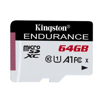 image Kingston SDCE/64GB High Endurance microSD Card 64 GB
