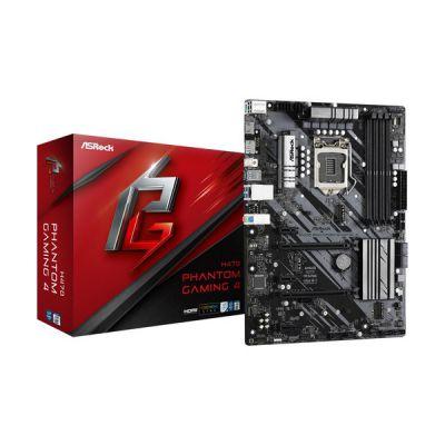 image ASRock H470 Phantom Gaming 4 ATX Carte mère pour CPU Intel LGA1200