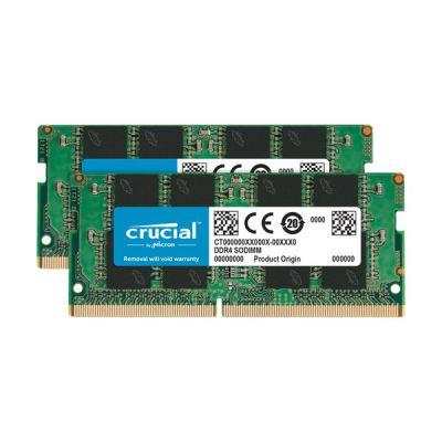 image SO-DIMM DDR4 Crucial - 32 Go (2 x 16 Go) 2666 MHz - CAS 19
