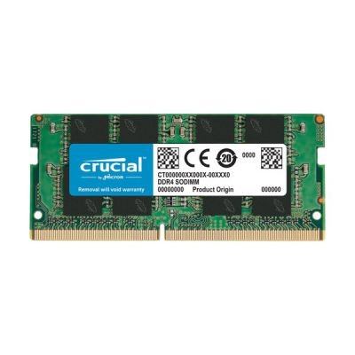 image Crucial CT16G4SFD8266 16Go (DDR4, 2666 MT/s, PC4-21300, Dual Rank x8, SODIMM, 260-Pin) Mémoire