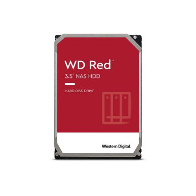 "image WD Red 10TB 3.5"" NAS Disque dur interne - 5400 RPM Class, SATA 6 Gb/s, CMR, 256MB Cache - WD101EFAX"