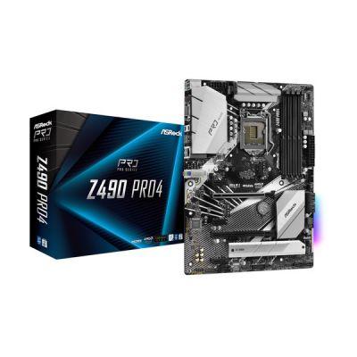 image Carte Mère ASRock Z490 Pro 4 (Intel LGA 1200)
