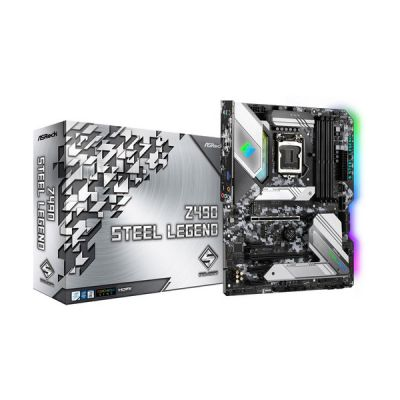 image ASRock Carte Mère Z490 Steel Legend (Intel LGA 1200)